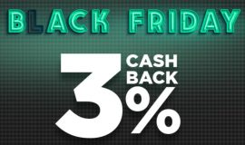 CA Black Friday 3% cash-back