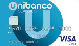 Cartão Unibanco Clássico com mais e novas vantagens