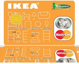 Cartão Cetelem IKEA para montar o seu crédito antes de montar os produtos suecos