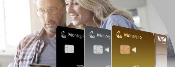 Cartão de crédito Montepio nas versões Classic, Gold e World
