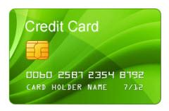 Comissões pelo uso de cartões de crédito e débito