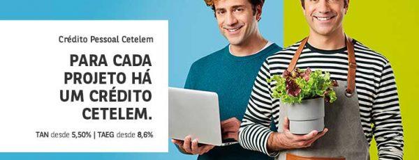 Campanha de crédito pessoal Cetelem até fim de Abril